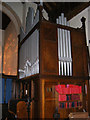 TM2348 : St.Mary's Church Organ, Great Bealings by Adrian Cable