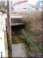 TM3569 : Culvert under Bruisyard Road by Adrian Cable