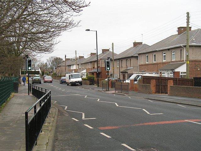 Main road, Dinnington