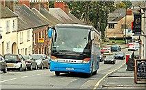 """J2458 : """"Aircoach"""", Hillsborough (3) by Albert Bridge"""