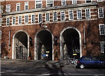 TQ2977 : Grosvenor Road entrance to Dolphin Square by PAUL FARMER