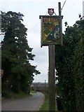 TQ8349 : East Sutton Village Sign by David Anstiss