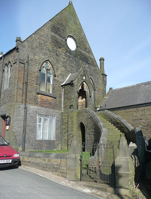 South end of the Methodist Chapel, Walker Lane, Chiserley, Wadsworth