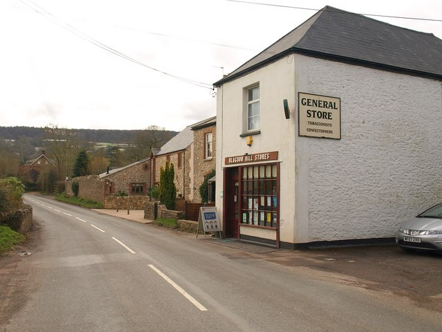 Post office and store, Blagdon Hill