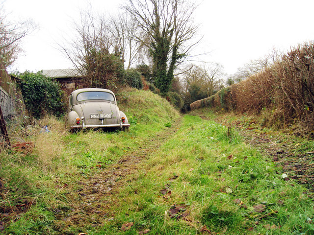 Abandoned Morris Minor