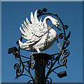 SE2955 : Sign of the Old Swan Hotel by Keith Edkins