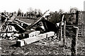 TQ9017 : The collapsed St Leonard's Windmill, Winchelsea by Justin Brice