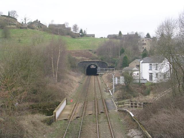 View from Bridge 95 - Rochdale Road