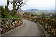 SK2563 : The Road Past Stanton Lees by David Lally