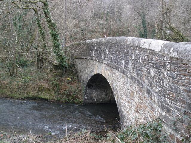 Bridge, on the A3124, to Great Torrington