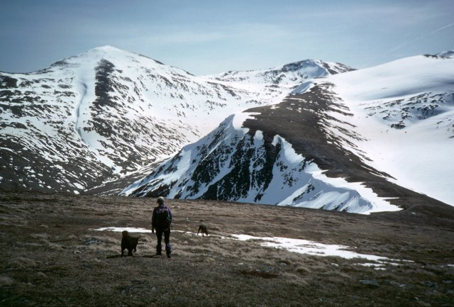 South ridge of Meall a' Choire Leith