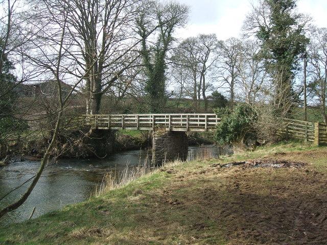 Footbridge at Kemplee