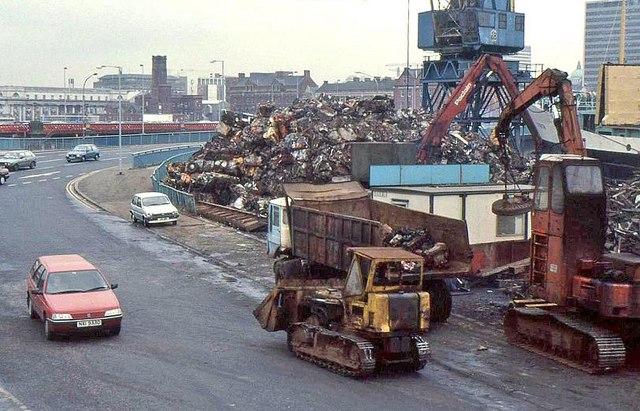 Queen's Quay scrapyard, Belfast