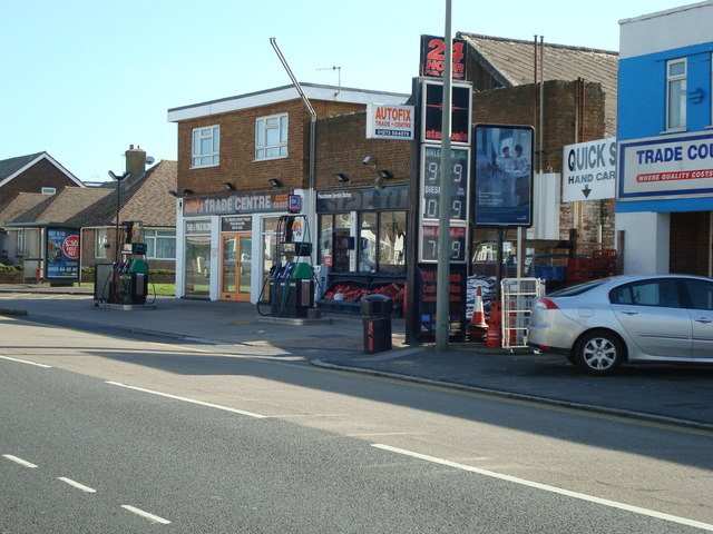Petrol Station, South Coast Road, Peacehaven, East Sussex