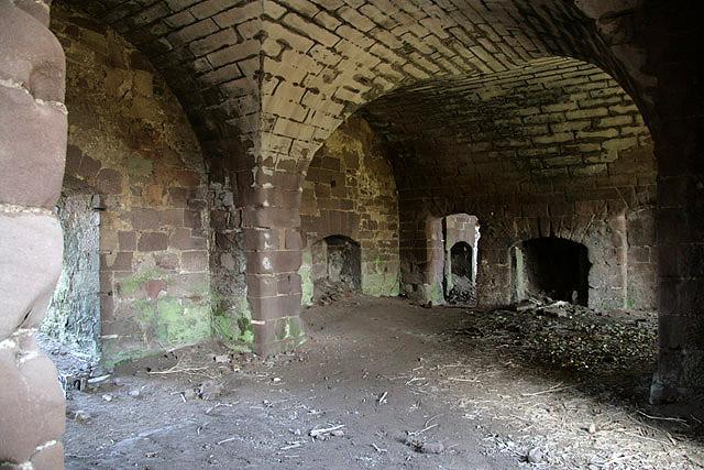 Inside Twizel Castle