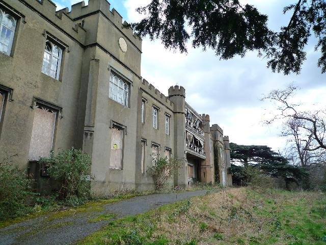 Twyford Abbey - western elevation
