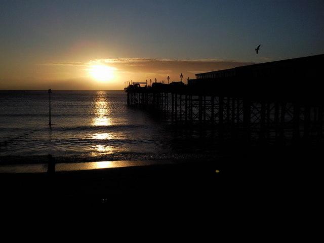 Teignmouth Pier at sunrise