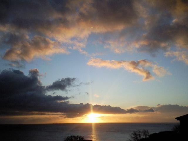 Sunrise at Coast View