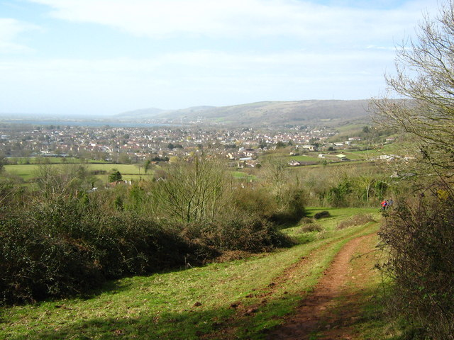 View from West Mendip Way