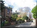 SJ4287 : Sandfield Road and Gateacre Unitarian Chapel by Sue Adair