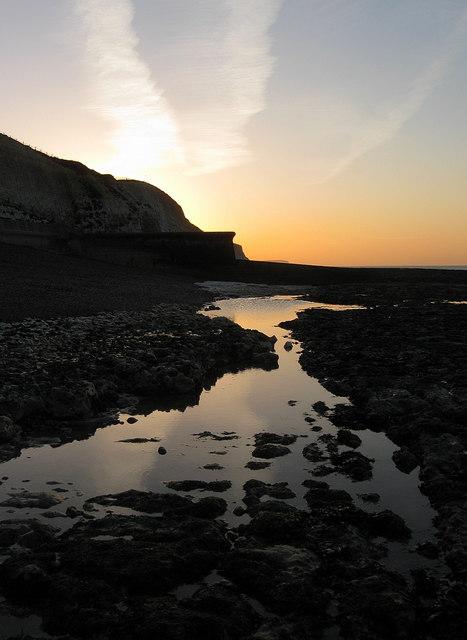 Sunrise on Peacehaven Beach