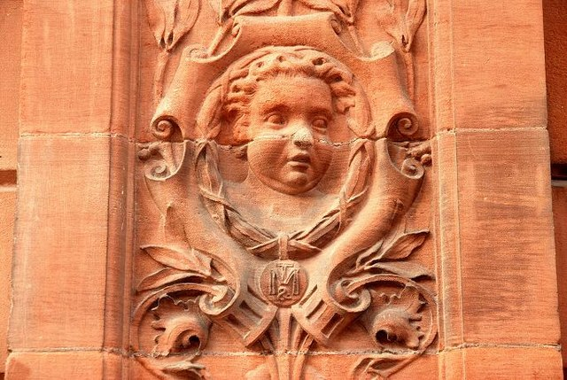 The Ulster Reform Club (detail) Belfast (3)