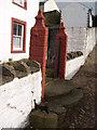 NY7843 : John Wesley's steps at Nenthead by Roger Morris
