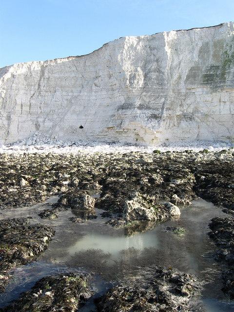 Cliffs near Saltdean