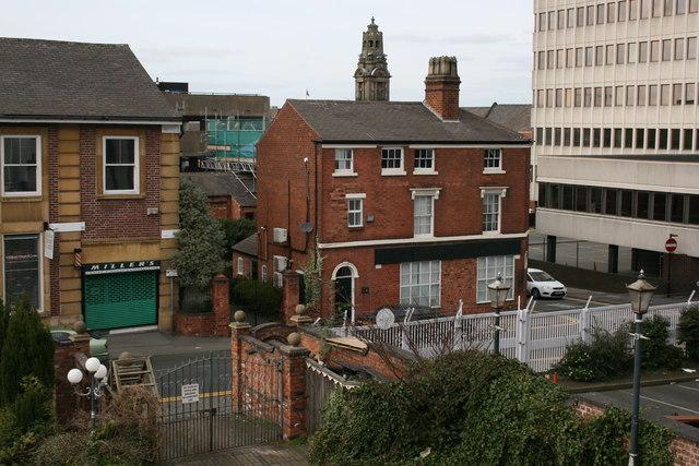Corner of Goodhall Street and Freer Street