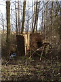 TF6820 : Ruined railway building by Martin Pearman