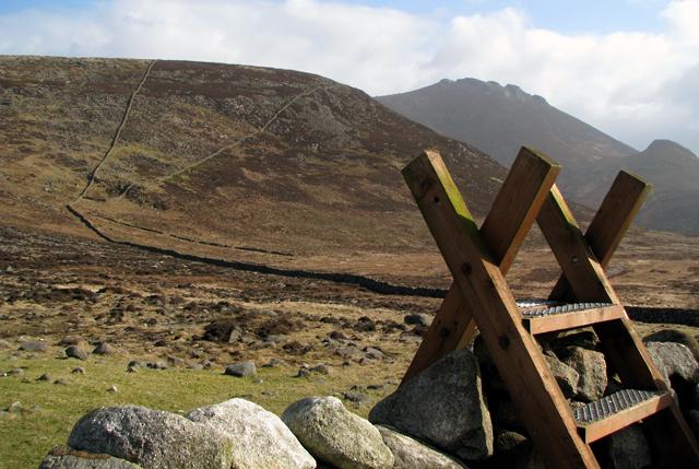 Stile near Slievenaglogh