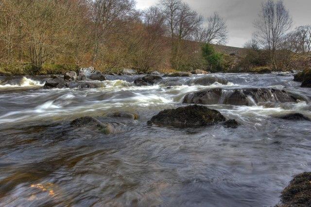 Water Of Ken near High Bridge