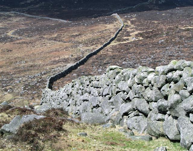 Mourne Wall near Slieve Muck