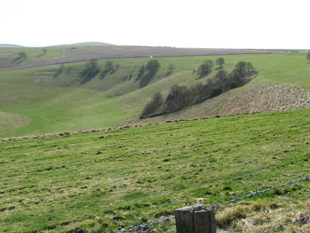 Head of Steyning Bowl dry valley