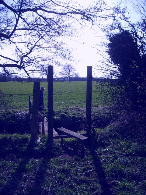 Coven Lawn Footbridge