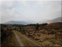 NH1804 : Track heading towards Loch Loyne by Sarah McGuire