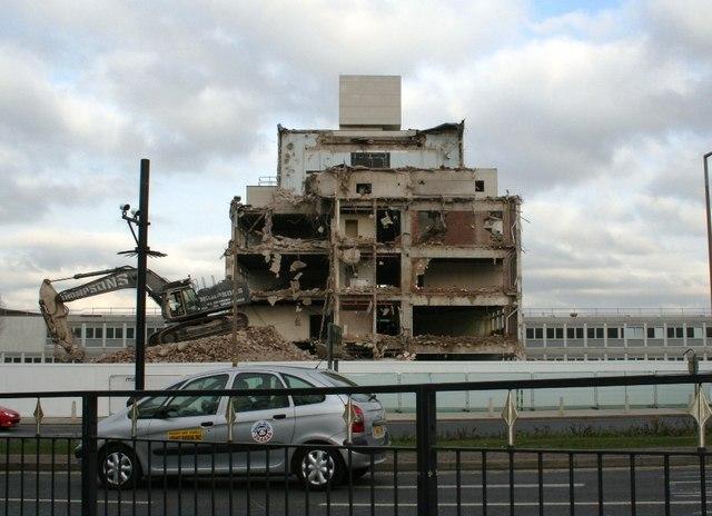 Demolition of College