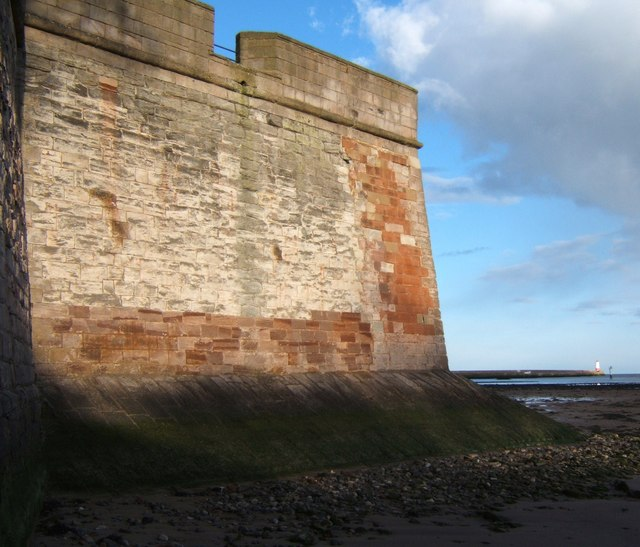 Fisher's Fort at low tide