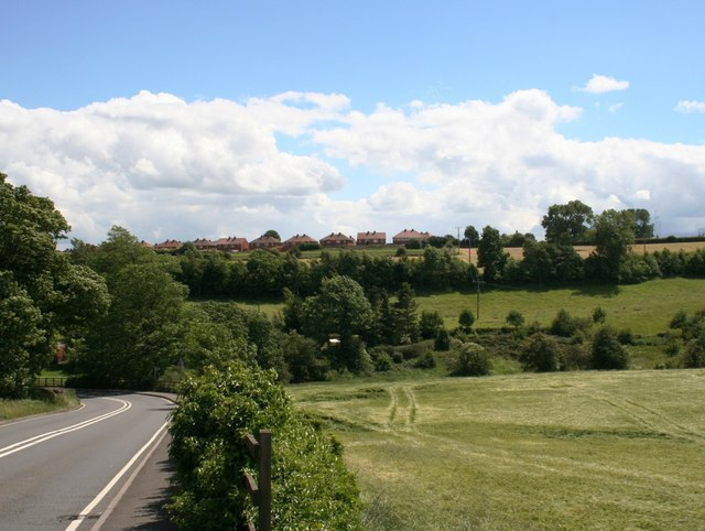 Towards Kexborough from Park Hill