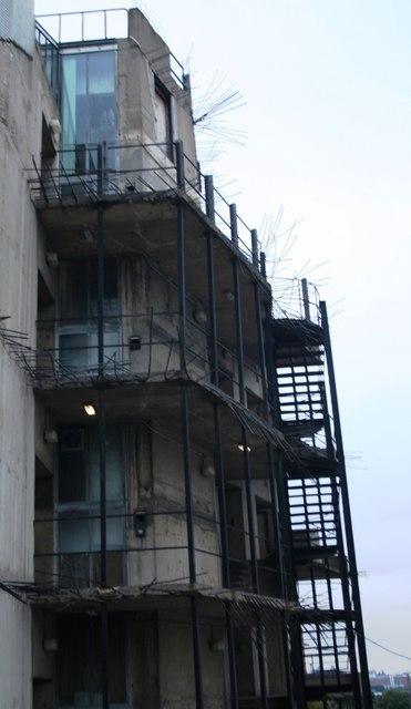 Intimidating structure