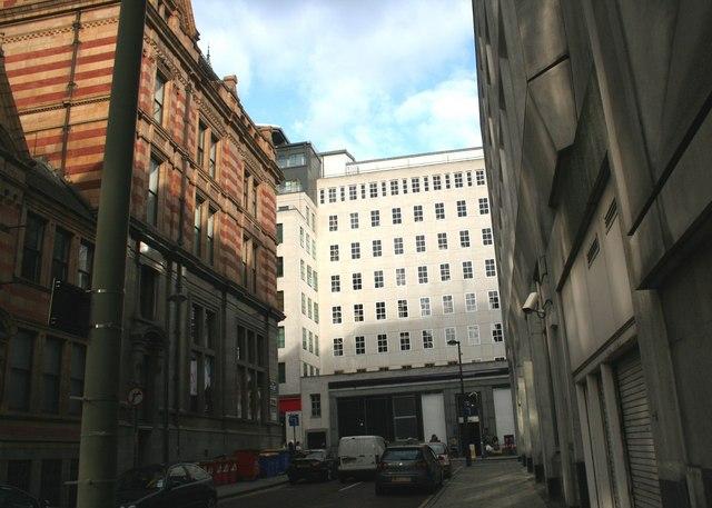 Built up street, Leeds
