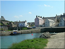 NJ5866 : Portsoy Old Harbour by JThomas