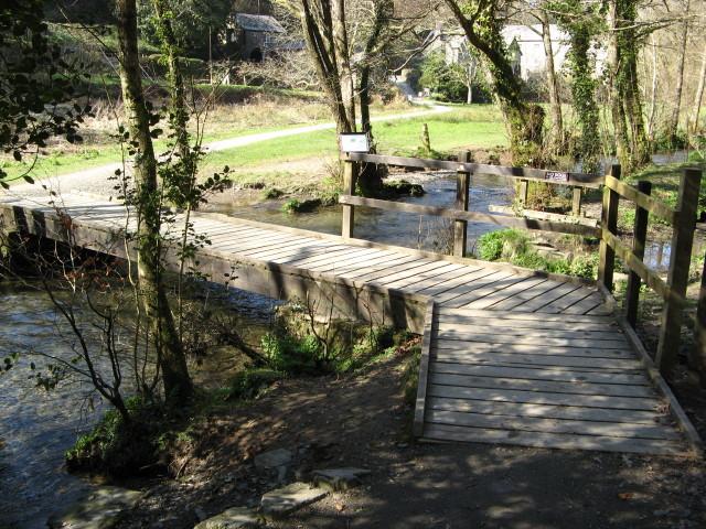 Cotehele Mill Footbridge