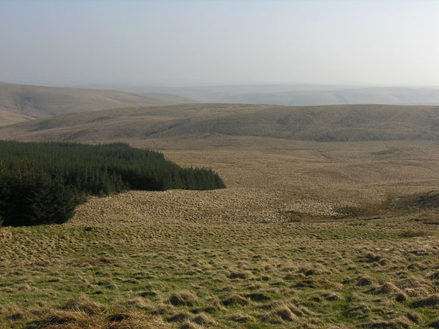 View south southeast from Cistfaen