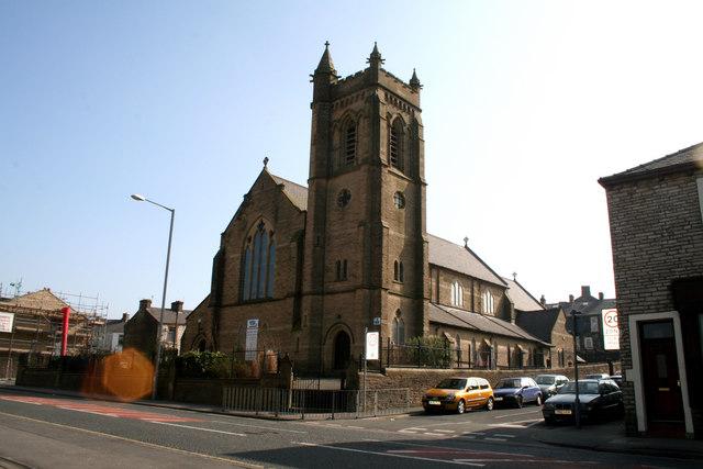 St. Philip's Church, Leeds Road, Nelson, Lancashire