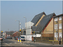 TQ4077 : Sunfields Methodist church - nearly complete by Stephen Craven