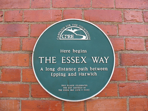 Start of the Essex Way