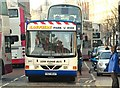 J3374 : Evening peak bus, Belfast (4) by Albert Bridge
