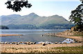 NY2520 : Derwentwater and Cat Bells by Derek Voller