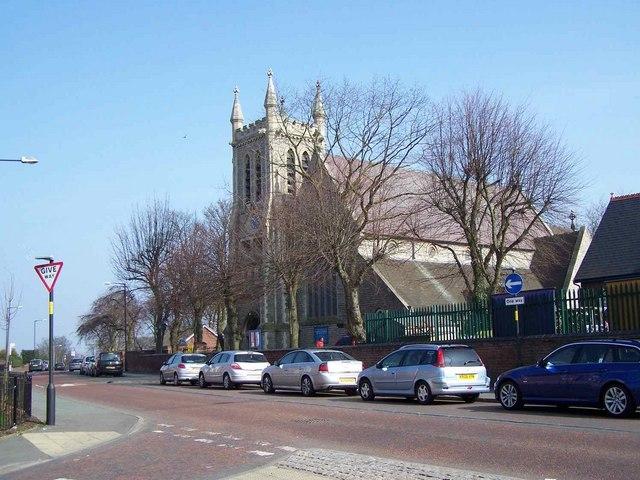 Christ Church, Blakenall Heath